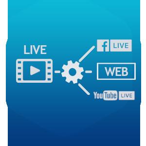 live streamaus Simulcast Facebook YouTube